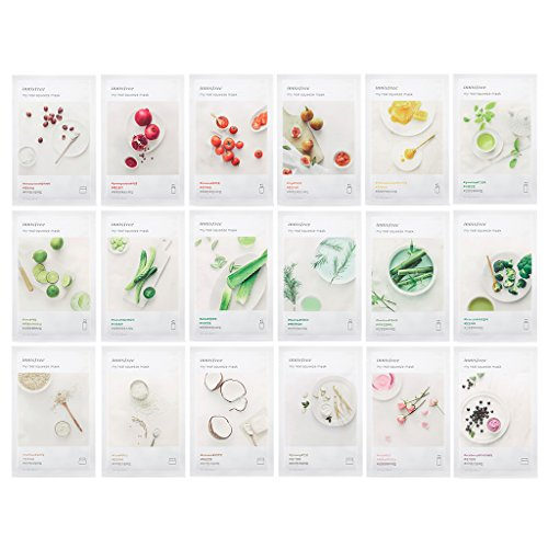 Innisfree My Real Squeeze Mask 20ml Pack of 18