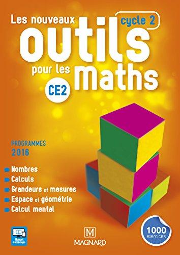 Les nouveaux outils pour les maths CE2 (cycle 2) - manuel de l'élève - Programme 2016