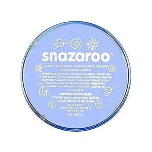 Snazaroo - Pintura facial y corporal, 18 ml, color azul pálido