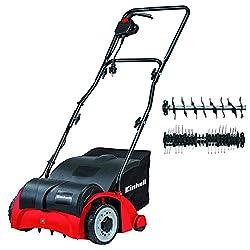 Einhell GC-SA 1231 1200 W Electric Dual Purpose Scarifier and Lawn Rake/Aerator - Red