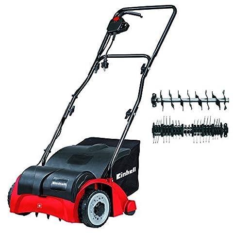 Einhell 3420620 GC-SA 1231 1200W Dual Purpose Scarifier and Lawn Rake - Red