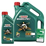 1 L + 5 L = 6 Liter Castrol Magnatec 5W-40 C3 Motor-Öl