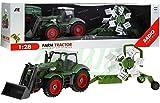 Traktor mit Anhänger QY8301I im Maßstab 1:28 - Ferngesteuertes Traktor