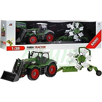 70f1b0521a29c3 Tracteur avec remorque QY8301I   l échelle 1 28 - télécommandé tracteur,  incluant le contrôle   distance -. RC Car Farm - Tracteur agricole avec  remorque ...