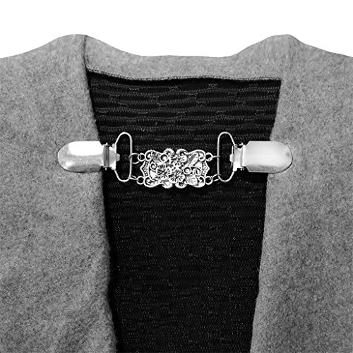 xmansky Hair Pins Decorative Handmade Artificial Hair Barrettes Hair Pins Hair Clips Hair Accessories,Frauen Strickjacke Bluse Schal Clips Hemdkragen Retro Ente Clip Verschlüsse