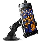 mumbi KFZ Halterung Samsung Galaxy S5 Mini / Autohalterung VibrationsFREI / 90° QUERBetrieb möglich