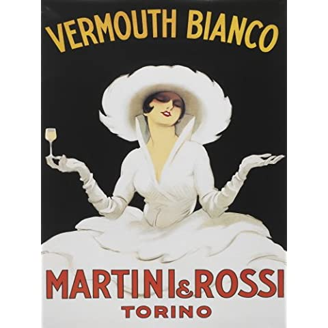 msc10638 Vermouth Bianco Martini y Rossi Torino Extra Large Metal pared publicidad signos