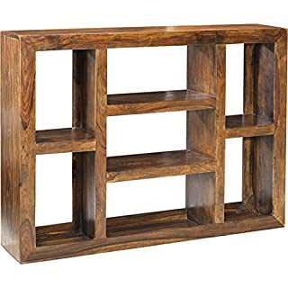 Asia Dragon Cuba Cube Sheesham Multi-shelf