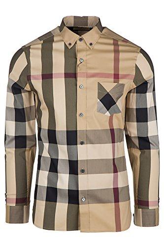 burberry-camicia-uomo-maniche-lunghe-nuova-thornaby-beige-eu-m-uk-38-4045831