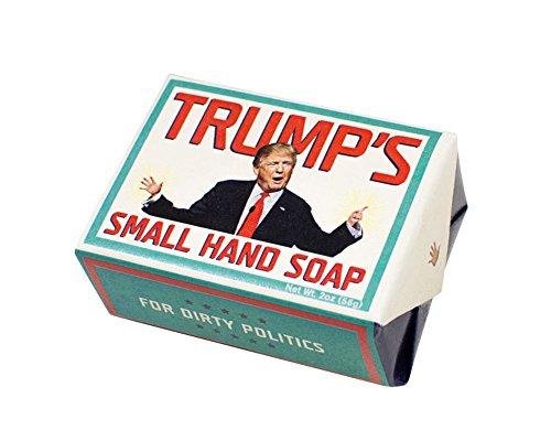 Donald Trump's Small Hand Soap 2 oz. Shower Bath President USA