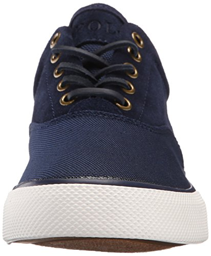 Polo Ralph Lauren Vaughn Saddle Fashion Sneaker Newport Navy