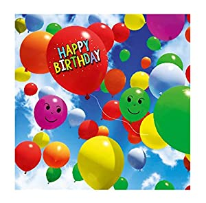 Depesche 5326.030 - Tarjeta de felicitación de cumpleaños, diseño en 3D, Multicolor