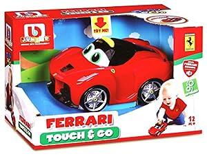 Bburago Maisto Francia81600, Vehículo Motorizado para Bebé,Ferrari Junior Touch and Go , Modelos/Colores Surtidos, 1 Unidad