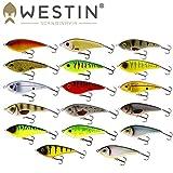 Westin Swim Suspending 10cm 32g - Jerkbait zum Spinnfischen, Wobbler zum Jerkbaitangeln, Hechtköder, Jerkköder zum Spinnangeln