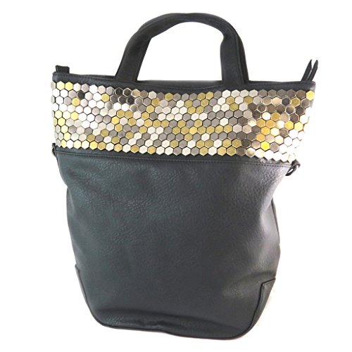 Bag designer 'Le Temps Des Cerises'nero - 38x38x12 cm.