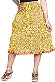 Vani Women's Cotton Ethnic Skirt (MidiGr...