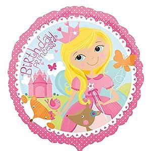 amscan 3377901 - Globo de cumpleaños con diseño de Princesa de Bosque