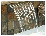 Pentair 581401fsgbf magicfalls Wasser Effekt Super 33cm Lip Serie Wasserfall