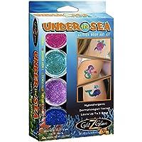 Unter dem Meer Glitter Tattoo Set - Temporäre Tattoos & Körperkunst