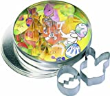 RBV Birkmann Easter Cookie Cutter Set, Silver, 4-6.5 cm, 6-Piece