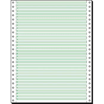 SIGEL 12247 Endlospapier 12 Zoll x 240 mm A4 hoch mit Leselinien 2000 Blatt LP 1fach 60 g