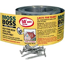 PEAK PRODUCTS AMERICA INC. - Zinc Moss & Mildew Preventer, 2.67-In. x 50-Ft.