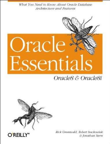 Oracle Essentials : Oracle8 & Oracle8i (en anglais) par Greenwald