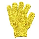 JERFER 1Pair Shower Gloves Exfoliating Wash Skin Spa Guanti da Bagno Foam Bath Skid Resist