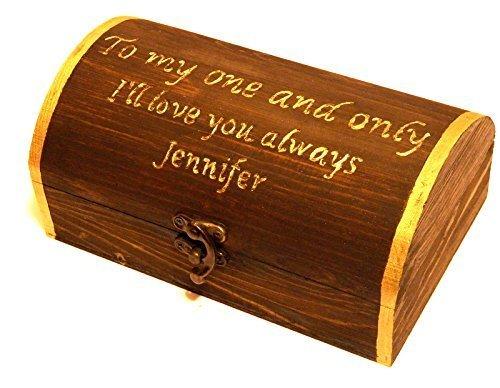 Bester Mann-Geschenk, für Ihn, Trauzeugen Geschenkkarton, Amulett-Kasten Uhr, Geschenkkarton für Männer, Damit Vati, Männer Schmuckkästchen