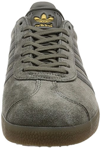 adidas Gazelle, Sneakers Basses Homme Gris (Utility Grey /utility Grey /gum5)