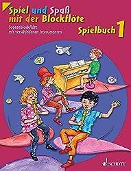 Spiel und Spaß mit der Blockflöte: Neuausgabe, herausgegeben von Gudrun Heyens und Gerhard Engel. Band 1. Sopran-Blockflöte mit verschiedenen ... Schlagzeug und Bass ad lib.). Spielbuch.