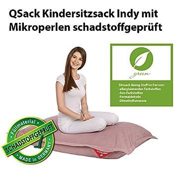 QSack Kindersitzsack Indy, mit Sitzsack Innenhülle ...