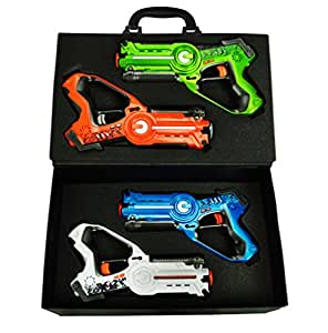 Laser Tag Set for Kids Multiplayer 4 Pack