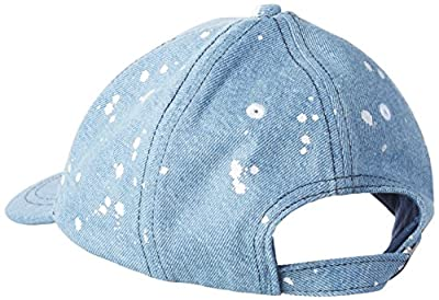 Calvin Klein Men's Re-Issue Denim Cp Baseball Cap, Blue (Mid Blue Denim 444), One Size (Manufacturer Size: OS)