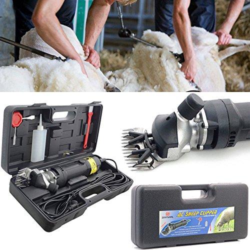 LINGJUN Schafschermaschine Set 350W 2500 U/min Elektrische für Schafschere Schaf De Lager