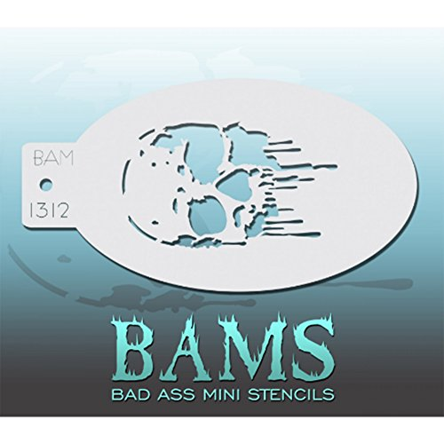 Bad Ass Stencils Mini-Schablone
