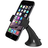 Car Mount, iOttie Easy View Universal Car Mount Holder for iPhone 7 6s 5s 5c, Samsung Galaxy S6 Edge Plus S6 S5 S4 - Retail Packaging - Black