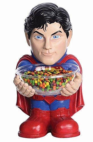 Rubie's Bonbonhalter Superman Figur mit Schale Karneval Fasching Deko