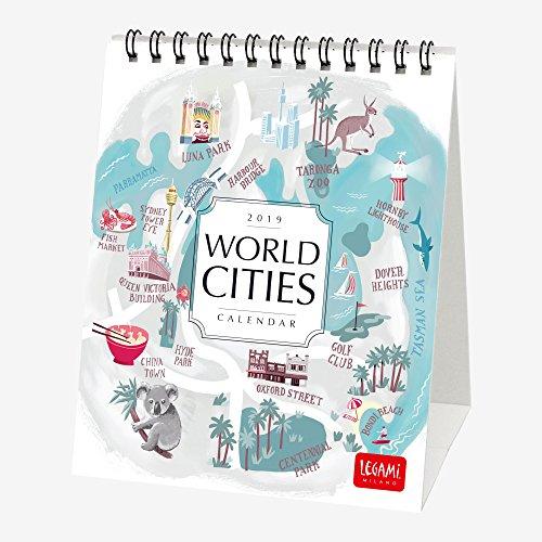4. World Cities - Calendario 2019 de escritorio