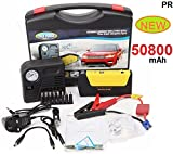 Best Jump Starter For Car Battery - PR Power Bank Charger Portable 50800mAh Vehicle Car Review