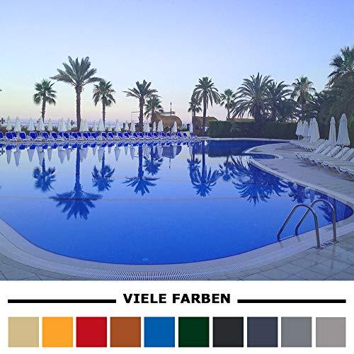 Home Profis® HPBA-500 Epoxidharz Poolfarbe Bodenbeschichtung Swimmingpool Außen (25m²) Schwimmbadfarbe Schwimmbeckenfarbe Gießharz Beton Estrich (RAL 9017 Verkehrsschwarz)