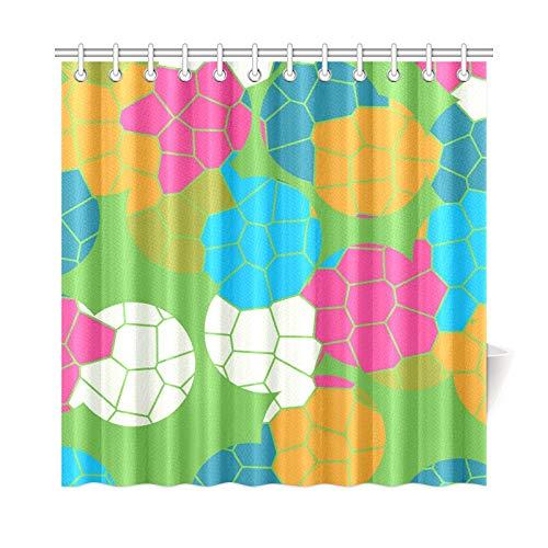 AGIRL Home Decor Bad Vorhang Mosaik Fliesen Vektor Mobile Wallpaper X Polyester Stoff Wasserdicht Duschvorhang Für Badezimmer, 72 X 72 Zoll Duschvorhänge Haken Enthalten