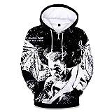 sweatshirt Sudadera_para Hombres Xxxtentacion Jersey con Capucha Impreso En 3D Rapero Suelta SuéTer De Lana para Hombres Talla XL 2XL 3XL 4XL