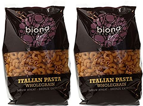 (2 Pack) - Biona - Org Wholewheat Macaroni | 500g | 2 PACK BUNDLE