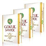 #9: Gokul Santol Pure Sandalwood Soap 75g (Pack of 3)
