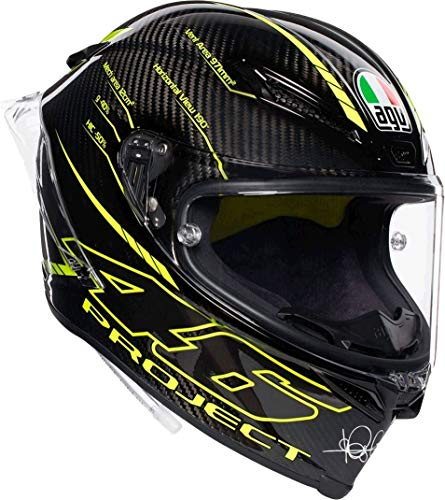 AGV Pista GP-R Project 46 3.0 Fibra De Carbon Casco De Moto De Cara Co