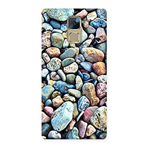 Premium Pebbles Multicolor Back Case Cover for Huawei Honor 7