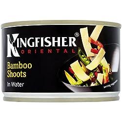 Kingfisher Conserva de brotes de bambú de agua (225 gr.)