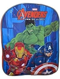 SAMBRO Mochila para niños Que ofrecen The Avengers Hulk, Iron Man, Kaptain América