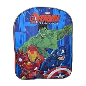 51g0IIwGDLL. SS300  - SAMBRO Mochila para niños que ofrecen The Avengers Hulk, Iron Man, Kaptain América